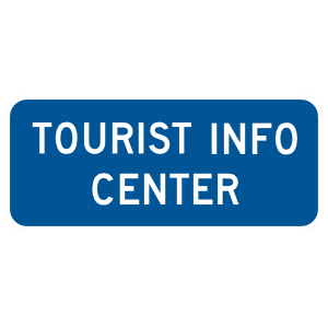 Tourist Info Center Sticker
