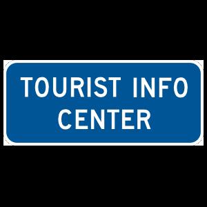 Tourist Info Center Magnet
