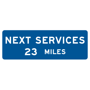 Next Services 23 Miles Sticker