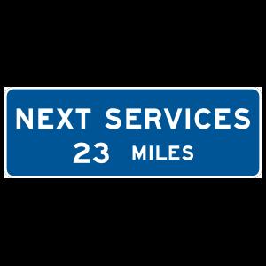 Next Services 23 Miles Magnet