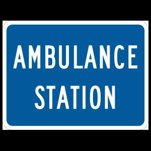 Ambulance Station Magnet