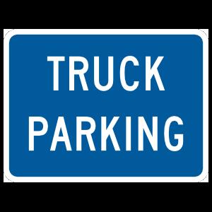 Truck Parking Magnet