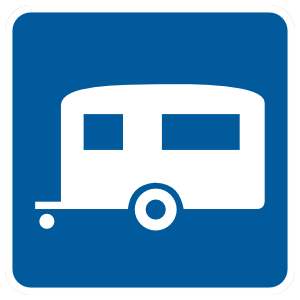 Trailer Camping Sticker