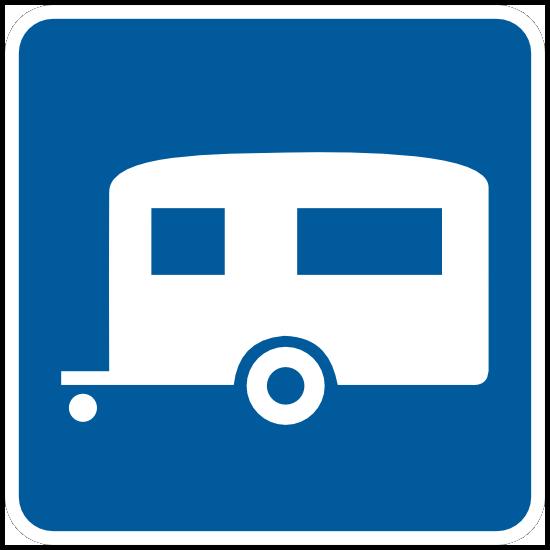 Trailer Camping Sticker