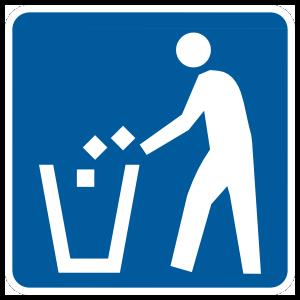 Recycling Trash Sticker