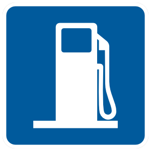Gas Station Magnet