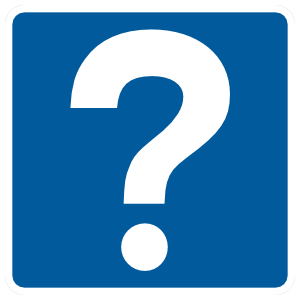 Visitor Questions Magnet