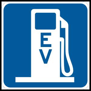 Ev Gas Station Magnet