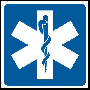 Hospital Symbol Magnet