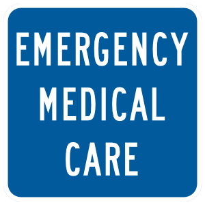 Emergency Medical Care Sticker