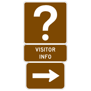 Visitor Info To The Right Magnet