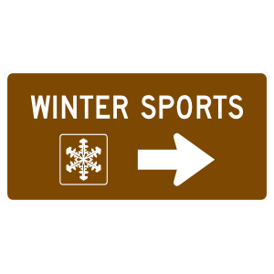 Winter Sports Magnet