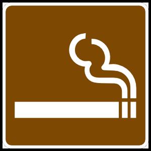 Smoking Area Sticker