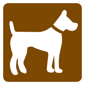 Dog Area Sticker