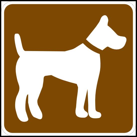 Dog Area Sticker
