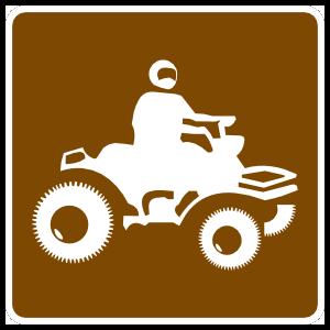 Four Wheeling Sticker