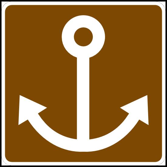 Anchor Sign Magnet