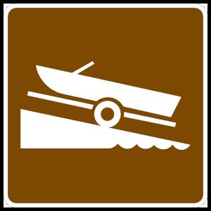 Boat Ramp Sticker