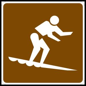 Water Boarding Sticker