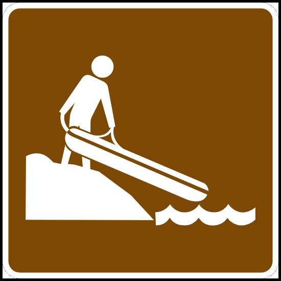 Small Boat Ramp Sticker