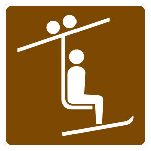 Ski Ramp Sticker