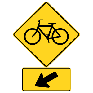 Bicycles Here Sticker