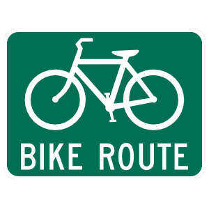 Bike Route Magnet