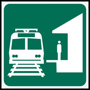 Bus Station Magnet
