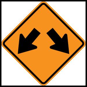 Two Lanes Splitting Magnet