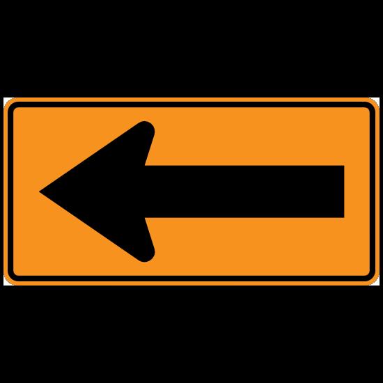 Left Arrow Sticker