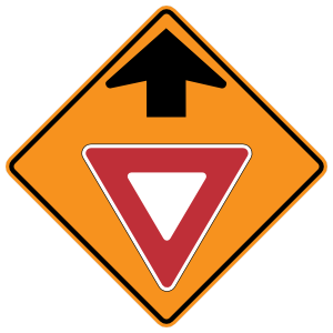 Yield Ahead Magnet