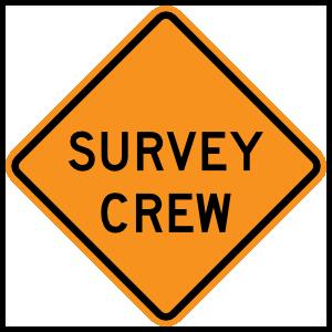 Survey Crew Magnet
