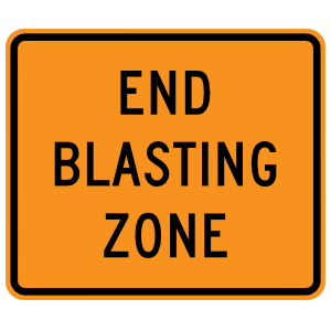 End Blasting Zone Magnet