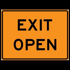 Exit Open Magnet