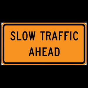 Slow Traffic Ahead Magnet