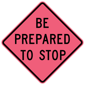 Be Prepared To Stop Magnet