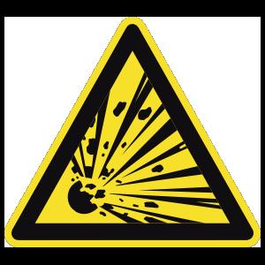 Explosive Sign Magnet