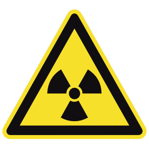 Radioactive Sign Magnet