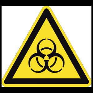Biohazard Sign Magnet