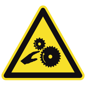 Crushing Gear Sign Magnet