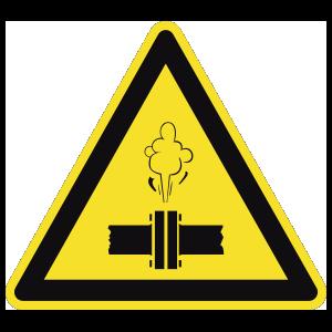 High Pressure Steam Sign Magnet