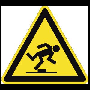 Tripping Hazard Sign Magnet