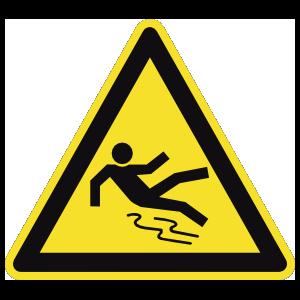 Slippery Sign Magnet