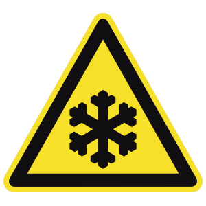 Cold Sign Sticker