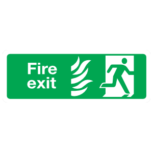 Fire Exit Sign Magnet