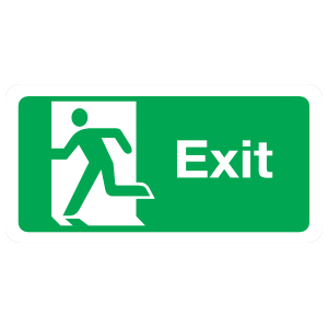 Exit Sign Magnet