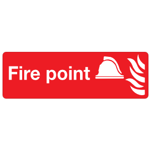 Fire Point Sign Magnet