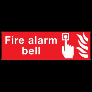 Fire Alarm Bell Sign Magnet