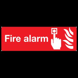 Fire Alarm Sign Magnet