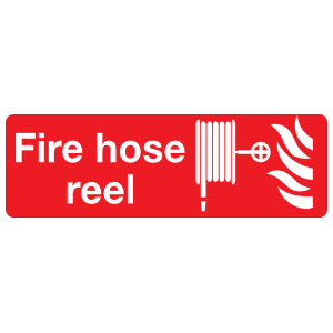Fire Hose Reel Sign Magnet